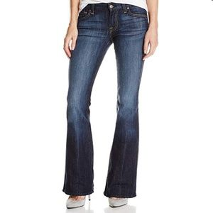 """7 forAll Mankind """"A"""" Pocket Flare Jean 24 S"""